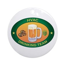 HVAC Team Ornament (Round)