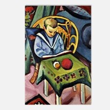 Unique August macke Postcards (Package of 8)