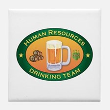 Human Resources Team Tile Coaster