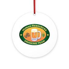 Human Resources Team Ornament (Round)