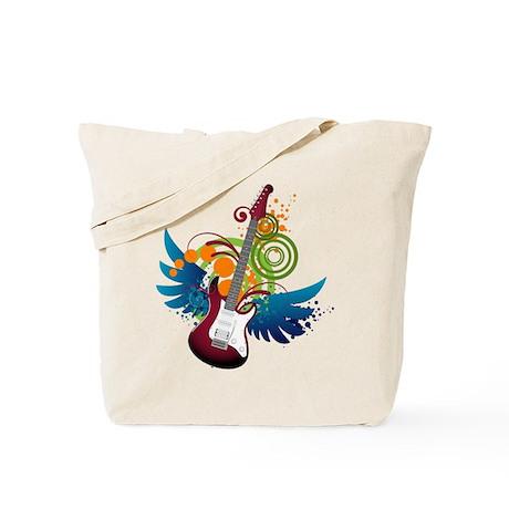 Guitar Fantasy Tote Bag