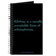 JOURNAL: Writing is a socially acceptable...