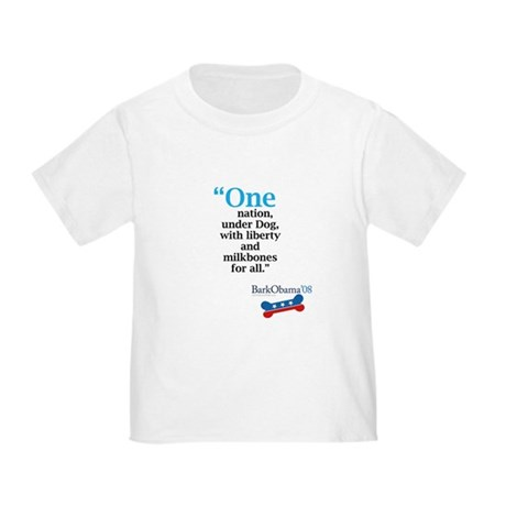 Obama pledge. Toddler T-Shirt