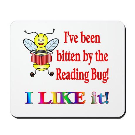 Reading Bug Mousepad
