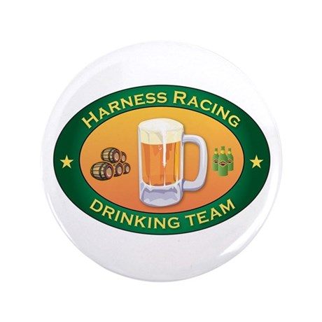 "Harness Racing Team 3.5"" Button"