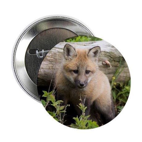 "Red Fox Kit 2.25"" Button (10 pack)"
