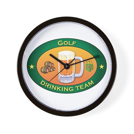 Golf Team Wall Clock