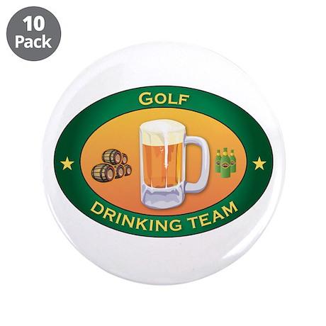 """Golf Team 3.5"""" Button (10 pack)"""