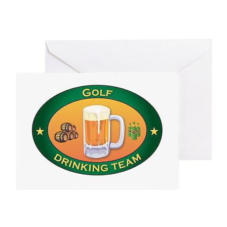 Golf Team Greeting Card
