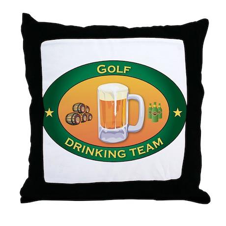 Golf Team Throw Pillow