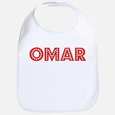 Retro Omar (Red) Bib