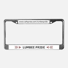 LUMBEE PRIDE License Plate Frame