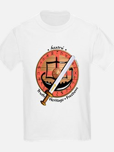 KIDS - Asatru - Truth/Heritage/Freedom (white)
