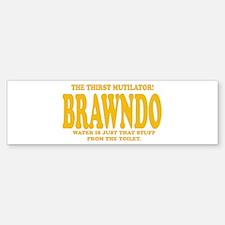 Brawndo Bumper Bumper Bumper Sticker