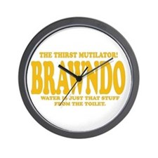 Brawndo Wall Clock
