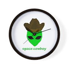 Space Cowboy Wall Clock
