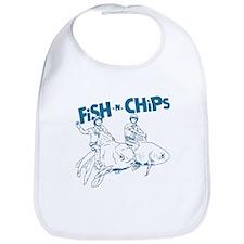 Fish n Chips Bib