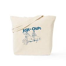 Fish n Chips Tote Bag
