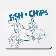 Fish n Chips Mousepad
