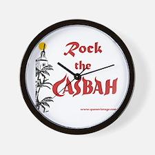 Rock the Casbah Wall Clock