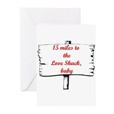 Love Shack Greeting Cards (Pk of 20)