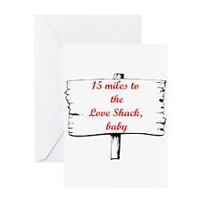Love Shack Greeting Card