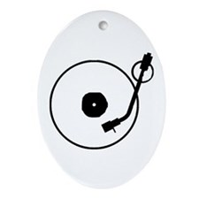 Turntable Oval Ornament