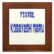 kobayashi maru Framed Tile