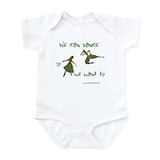 Safety Dance Infant Bodysuit