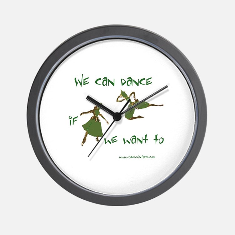 Safety Dance Wall Clock