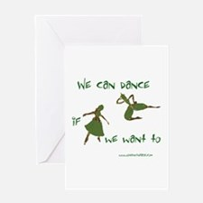 Safety Dance Greeting Card