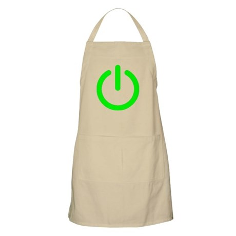 Power Button BBQ Apron