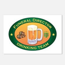 Funeral Director Team Postcards (Package of 8)