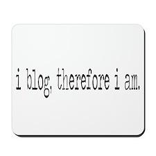 i blog Mousepad