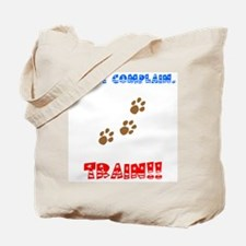 Funny Agility support Tote Bag