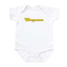 Retro Cheyanne (Gold) Infant Bodysuit