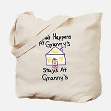 Granny's House Tote Bag