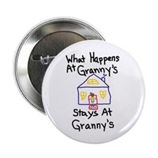 "Granny's House 2.25"" Button"