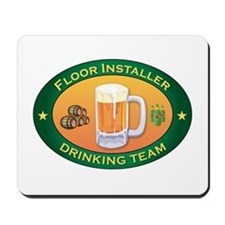 Floor Installer Team Mousepad