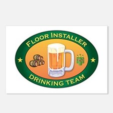 Floor Installer Team Postcards (Package of 8)