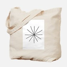 Dirt Star, Balloon Knot Tote Bag