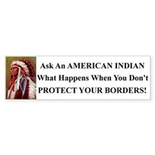 Protect Your Borders Bumper Sticker Bumper Sticker
