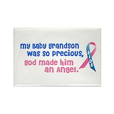 SIDS Angel 1 (Baby Grandson) Rectangle Magnet