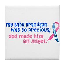 SIDS Angel 1 (Baby Grandson) Tile Coaster