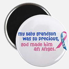 """SIDS Angel 1 (Baby Grandson) 2.25"""" Magnet (10 pack"""