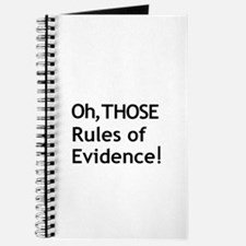 Rules of Evidence 3 Journal
