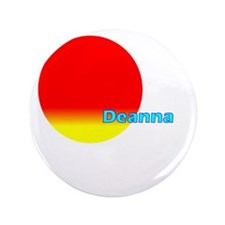 "Deanna 3.5"" Button"