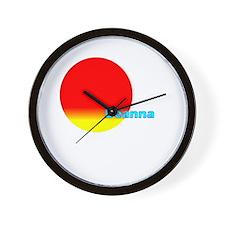 Deanna Wall Clock