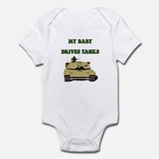 Unique Husband deployed Infant Bodysuit