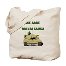 Funny Army husband Tote Bag